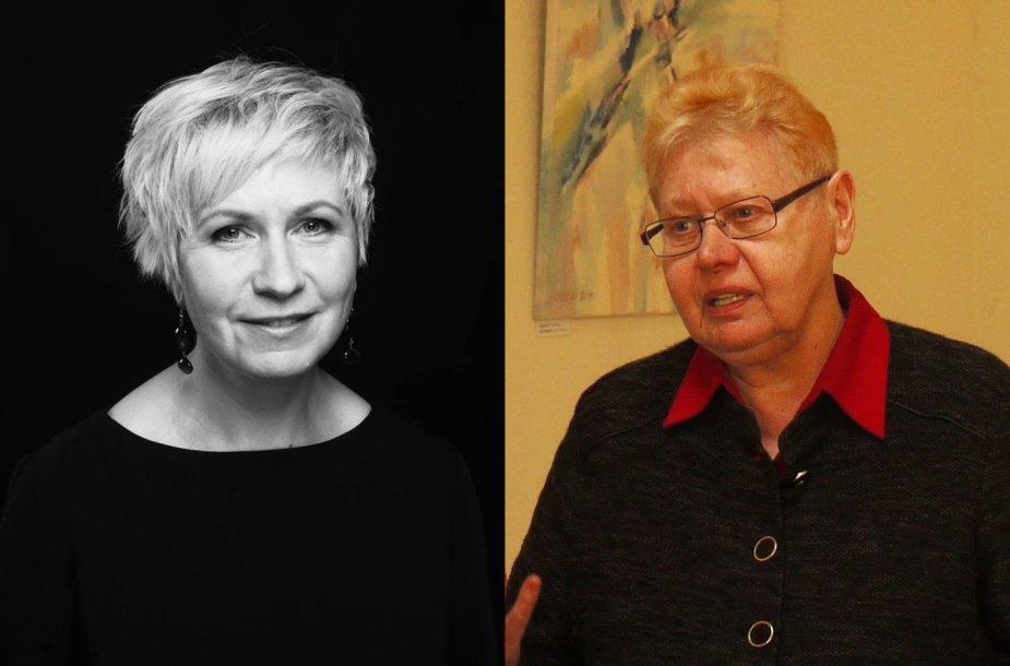 Dace Meiere ir  Eugenija Ulčinaitė
