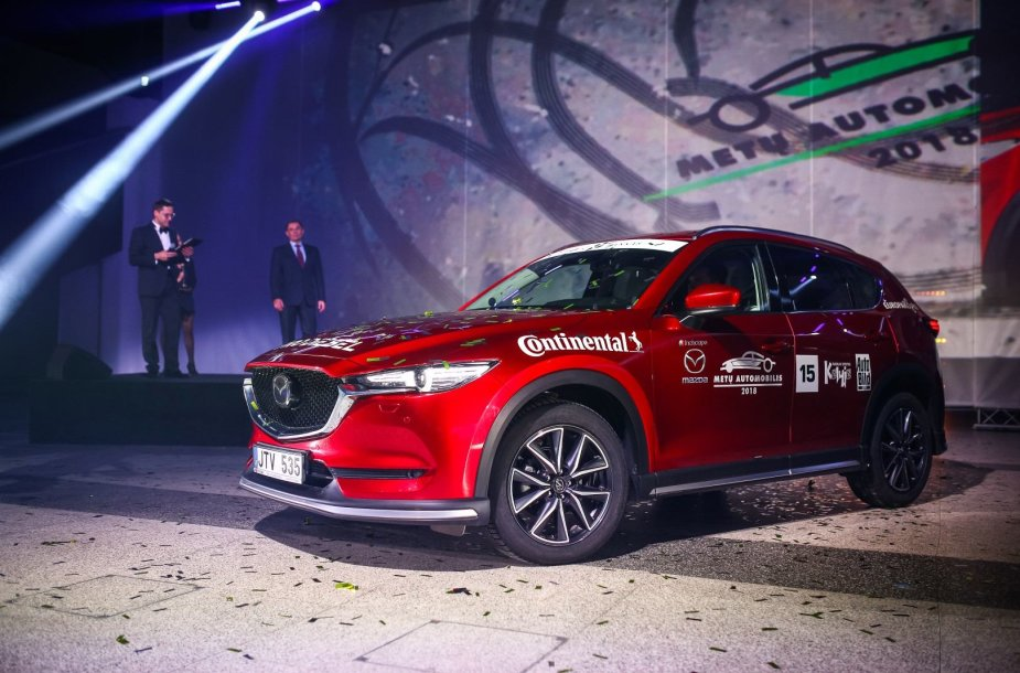 """Lietuvos metų automobilis 2018 – """"Mazda CX-5"""""""