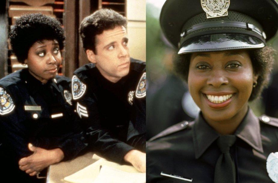 """Marion Ramsey """"Policijos akademijos"""" filmuose"""