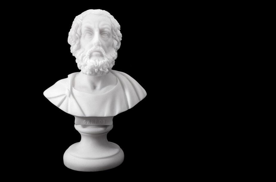 Homero biustas 800–701 pr. Kr.