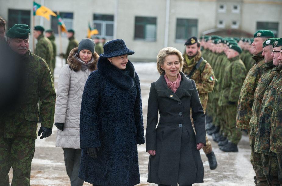 Lietuva priima NATO batalioną