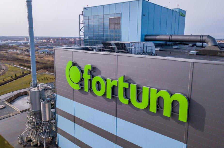 """""""Fortum"""" jėgainė Klaipėdoje"""