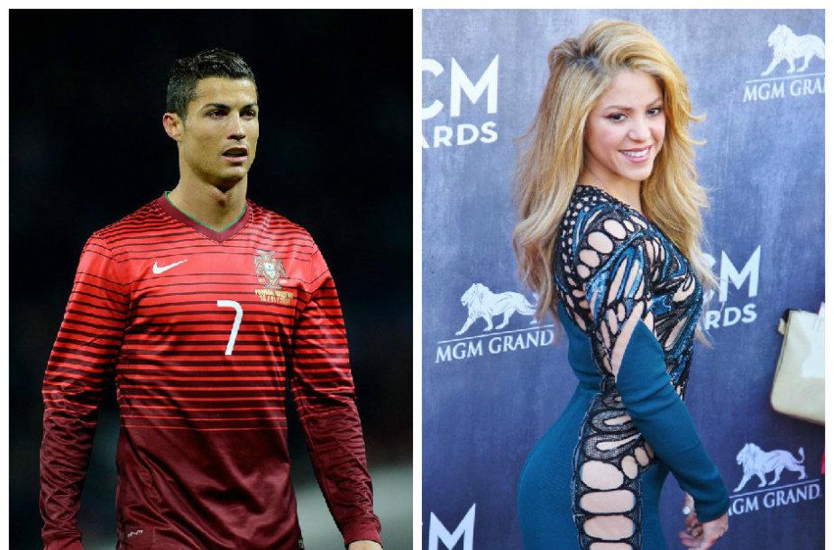 Cristiano Ronaldo ir Shakira