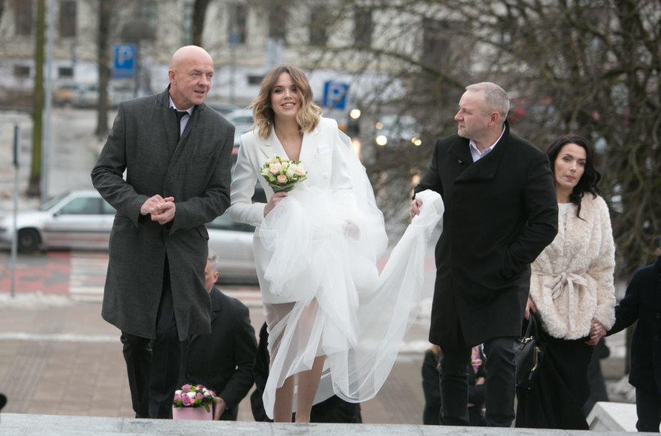 Ramūno Rudoko ir Justinos Žeimytės vestuvių akimirka