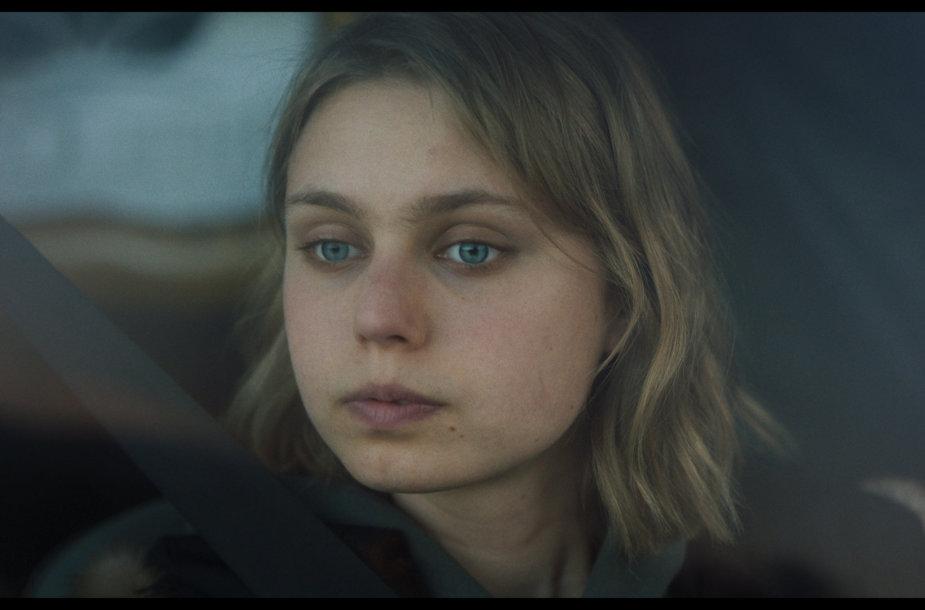 """Ina Marija Bartaitė. Kadras iš filmo """"Mano legionierius"""""""