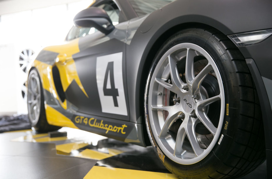 "Lenktynių akademijos ""Porsche Racing Academy"" pristatymo akimirka"