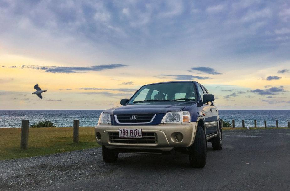 "Lietuvis sena ""Honda CR-V"" sieks apvažiuoti Australiją"