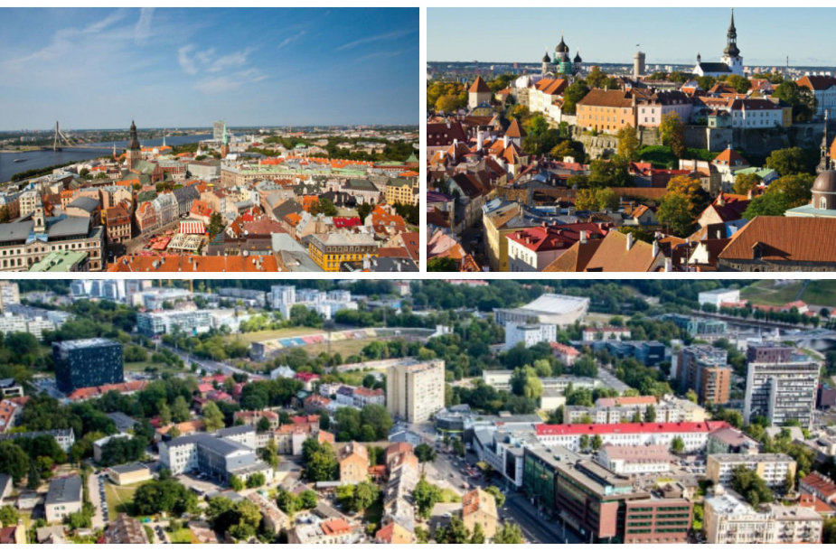 Ryga, Talinas, Vilnius
