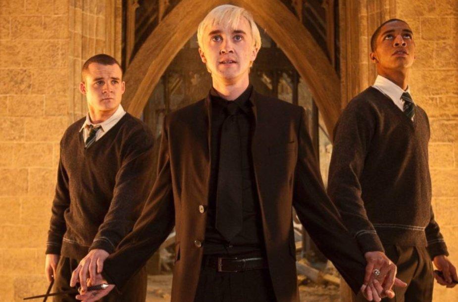 """""""Hario Poterio"""" filmų aktorius Joshas Herdmanas (kairėje)"""