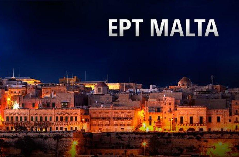 Prasideda Europos pokerio turo (EPT) Maltos festivalis