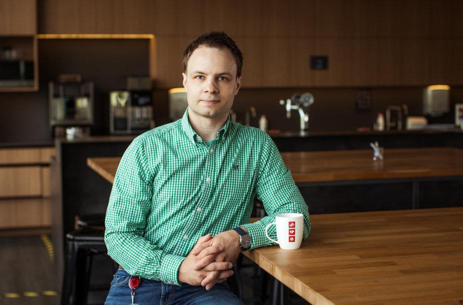 JAV programavimo paslaugų įmonėje karjeros kelią jau beveik penkerius metus kuriantis DevOps praktikų vadovas Marius Guobys