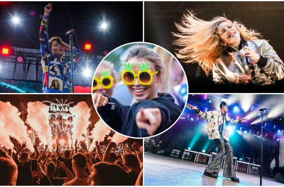 2017 metų muzikos festivalių akimirkos