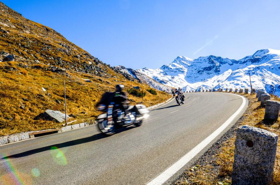 Kelionė motociklu žiemą