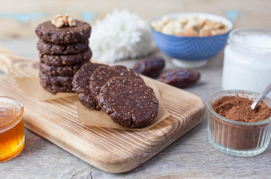 Sveikuoliški kakaviniai sausainiai