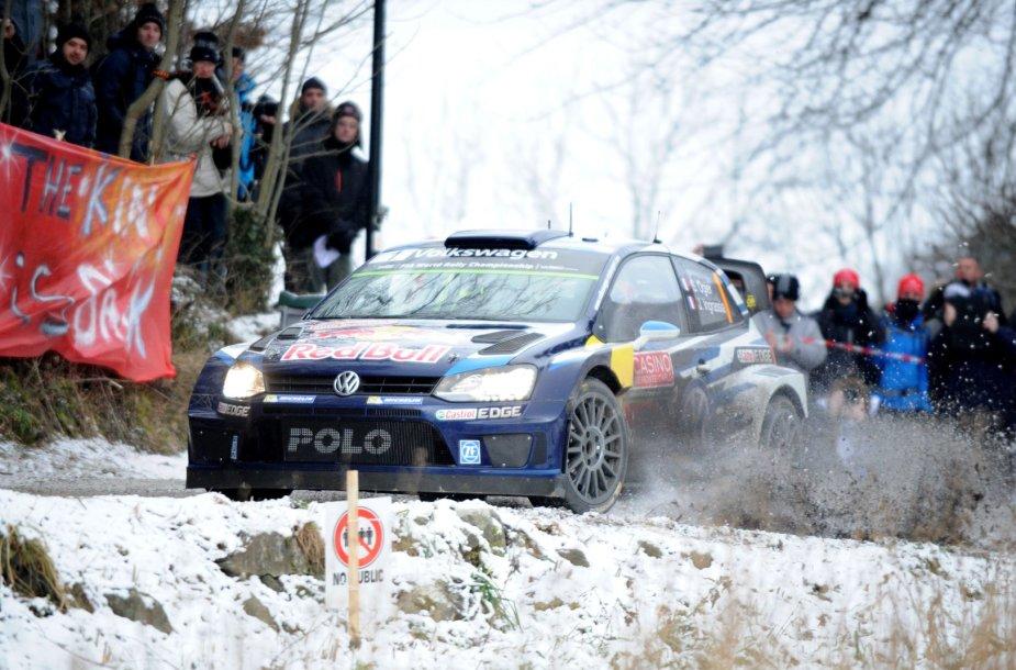 WRC Monte Karlo ralis