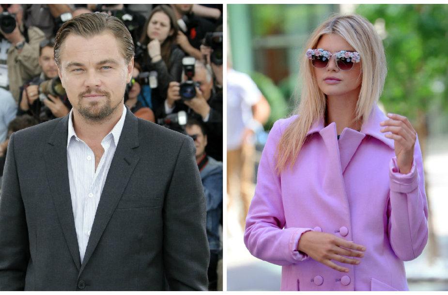 Leonardo DiCaprio ir Kelly Rohrbach