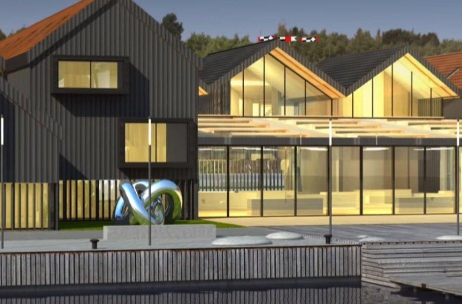 Nidoje planuojama statyti penkių žvaigždučių  viešbutį.