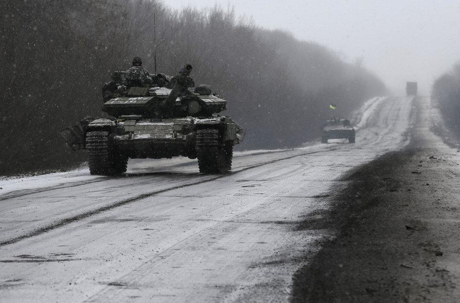 Ukrainos kariai prie Debalcevės