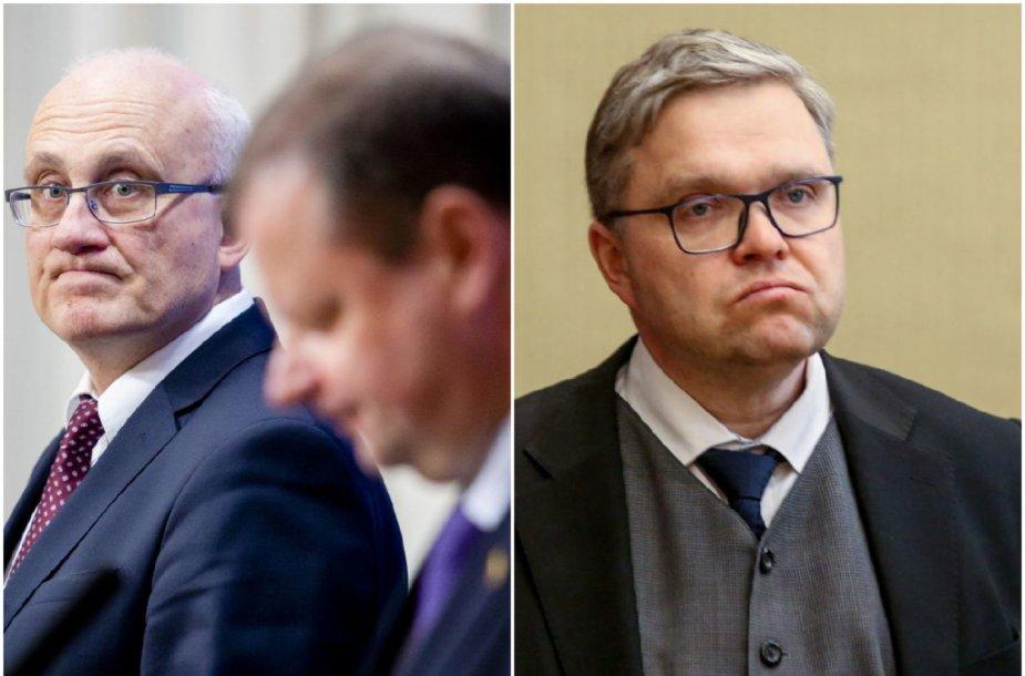 Stasys Jakeliūnas, Saulius Skvernelis, Vitas Vasiliauskas