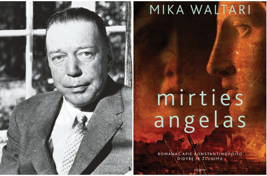 Mika Waltari ir knygos viršelis