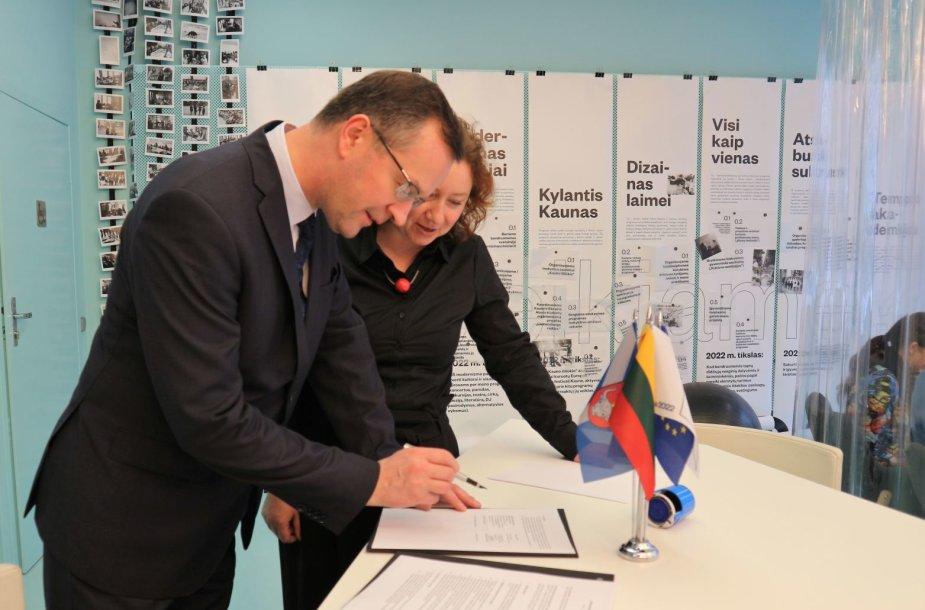 """""""Kaunas – Europos kultūros sostinė 2022"""" rėmėjais ir teisiniais partneriais tapo advokatų profesinė bendrija """"Magnusson"""""""