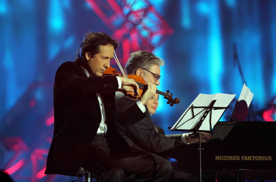 Vilhelmas Čepinskis ir Petras Geniušas