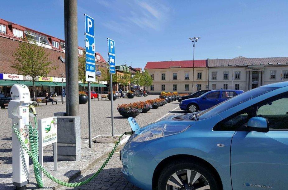 Elektromobilių rojus Švedijoje