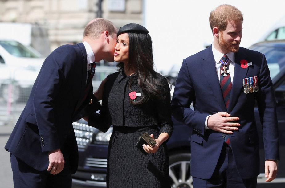 Princas Williamas, Meghan Markle ir princas Harry ir Meghan Markle