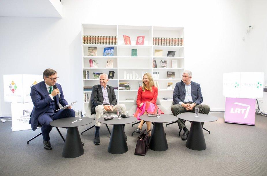 """Diskusija """"Geopolitinė mėsmalė: kaip Lietuvai išlikti sveikai?"""""""