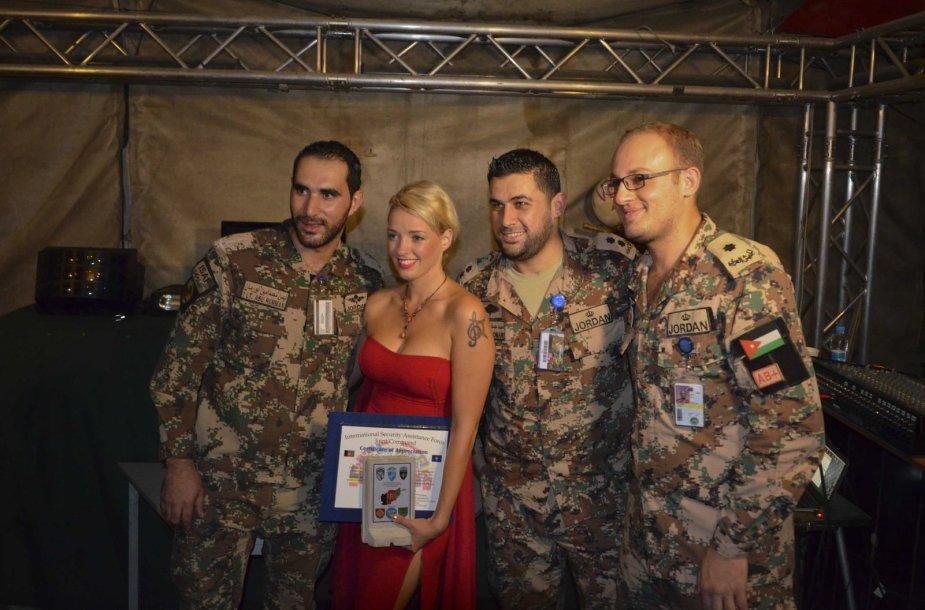 Anželos Adamovič kelionės į Afganistaną akimirka