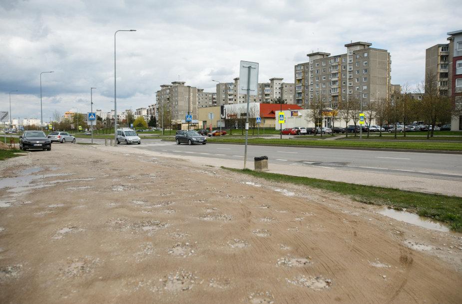 Daugpilio gatvės ir Baltų prospekto sankryža