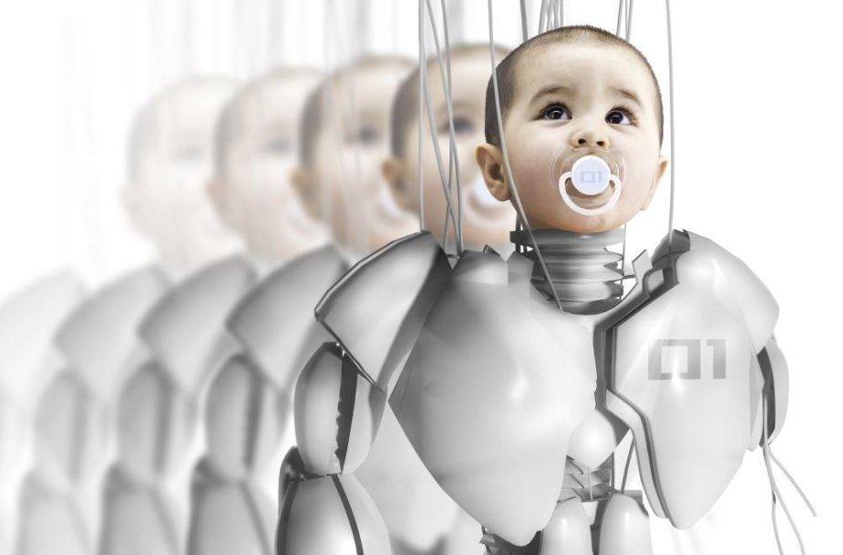 Vaikas - robotas