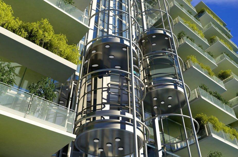 Ateities pastatas / 123rf.com