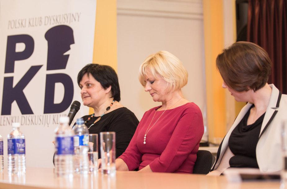 Lenkų diskusijų klubo pokalbis apie sėkmingas moteris