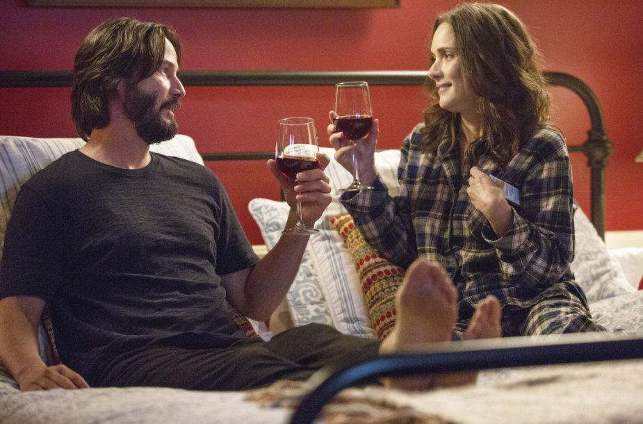 """Keanu Reevesas ir Winona Ryder filme """"Tikslas – vestuvės!"""""""