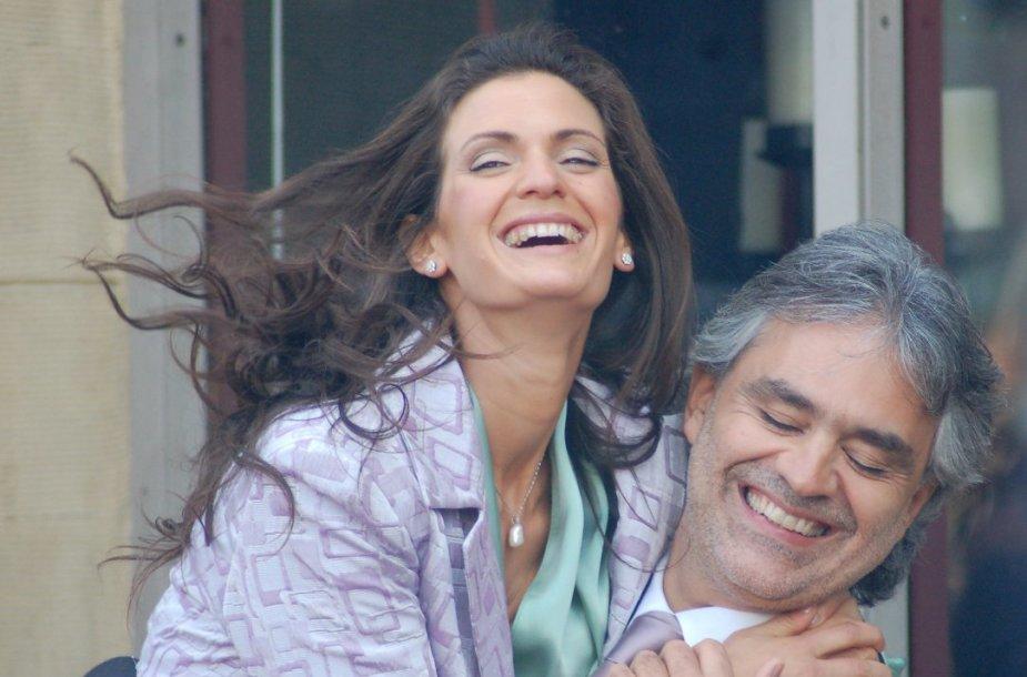 Andrea Bocelli ir Veronica Berti