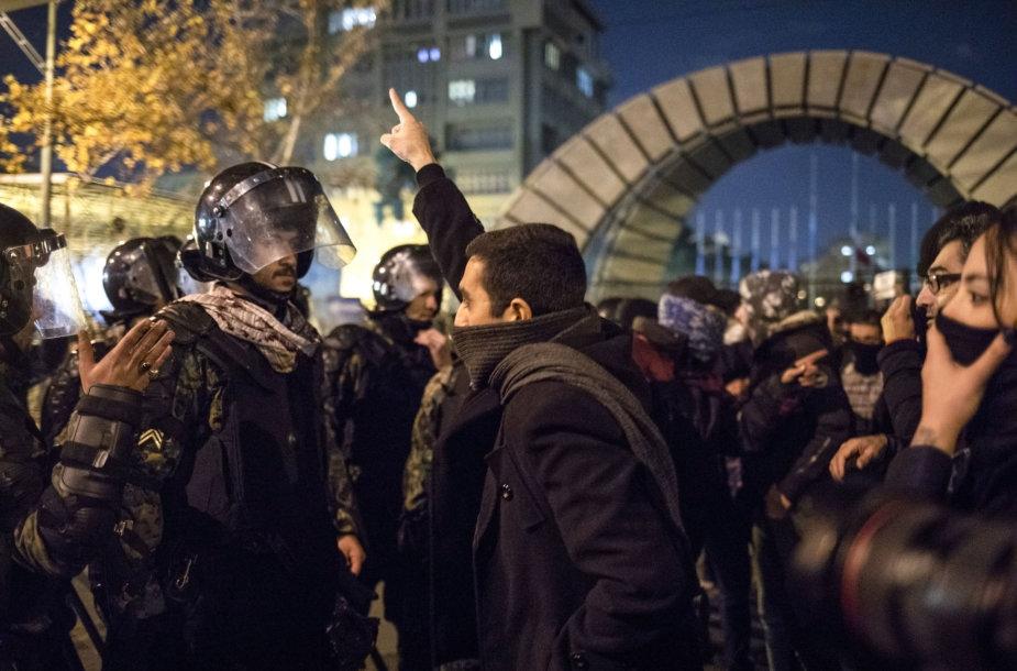 Antivyriausybinis protestas Irane