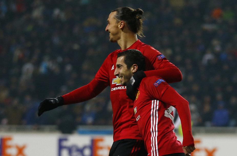 Zlatanas Ibrahimovičius ir Henrikhas Mkhitaryanas
