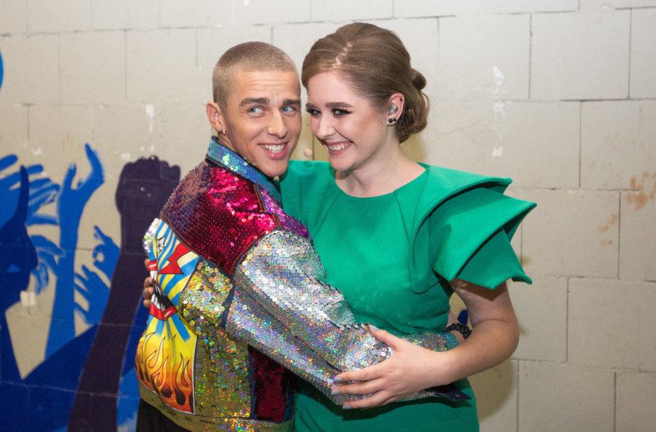 Donatas Montvydas ir Monika Marija Paulauskaitė