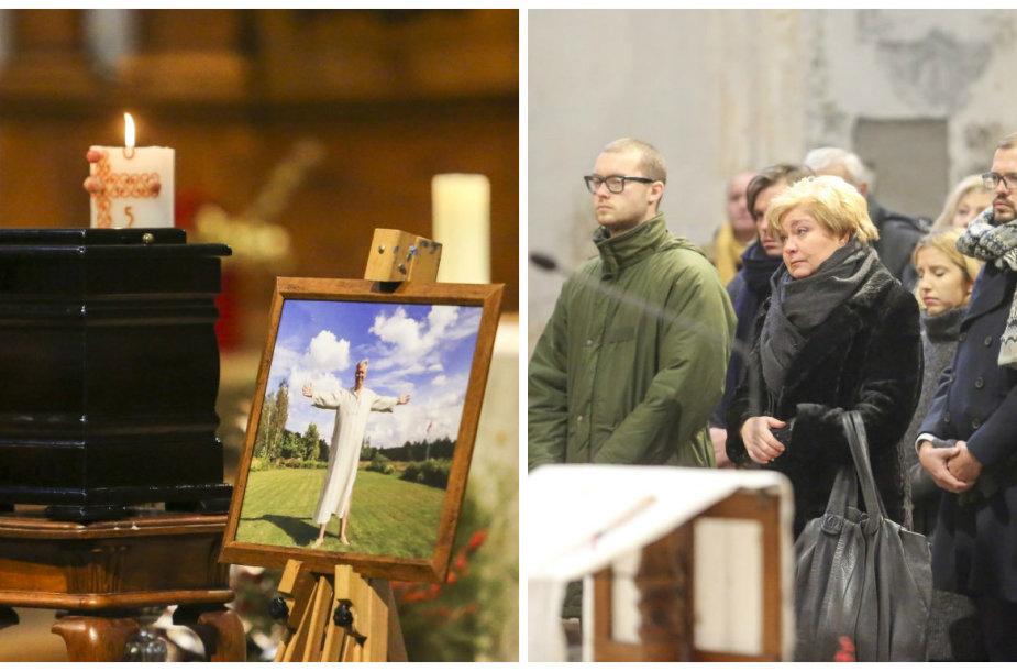 Gintautui Vyšniauskui skirtų Šv. Mišių akimirka