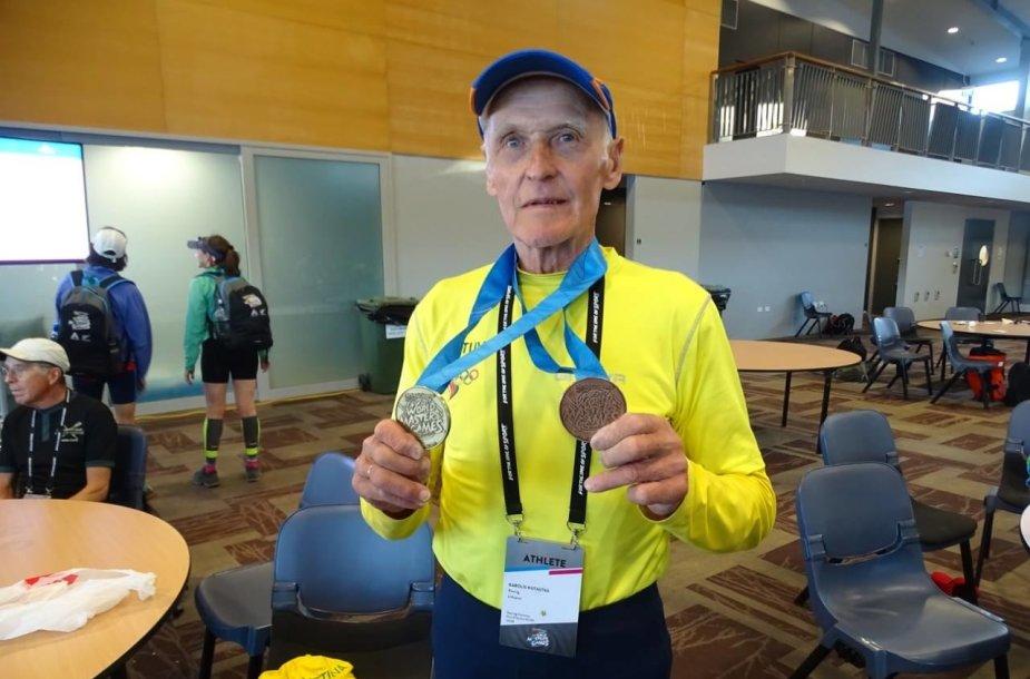 Lietuvos irklavimo veteranai sėkmingai pasirodė Naujoje Zelandijoje