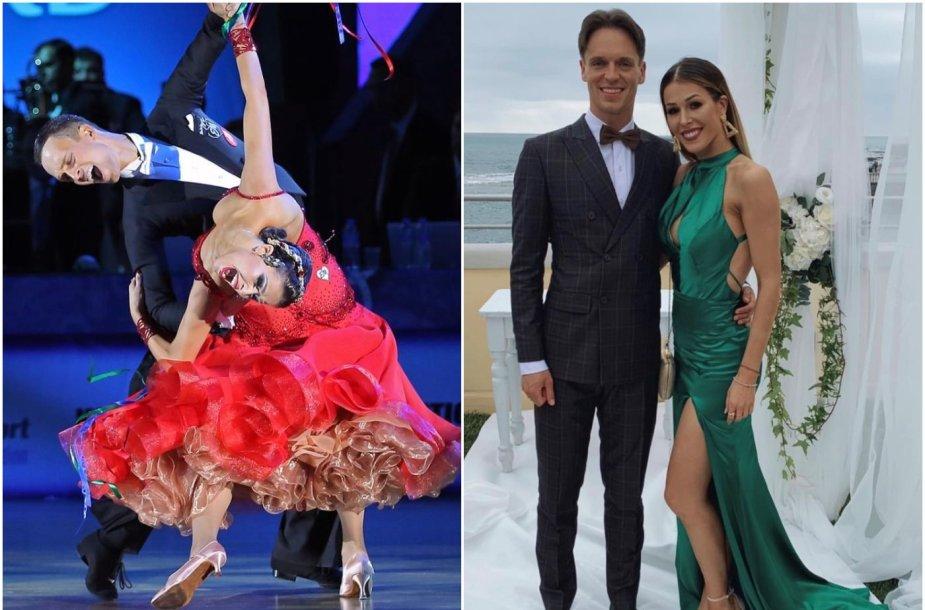 Vaidotas Lacitis bei Veronika Golodneva-Lacitienė yra pasaulyje geriausių standartinių sportinių šokių šokėjų porų penketuke. Pora yra vedusi penkerius metus.