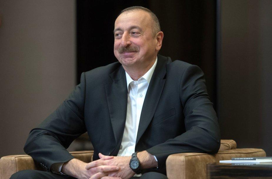 Azerbaidžano prezidentas Ilhamas Alijevas