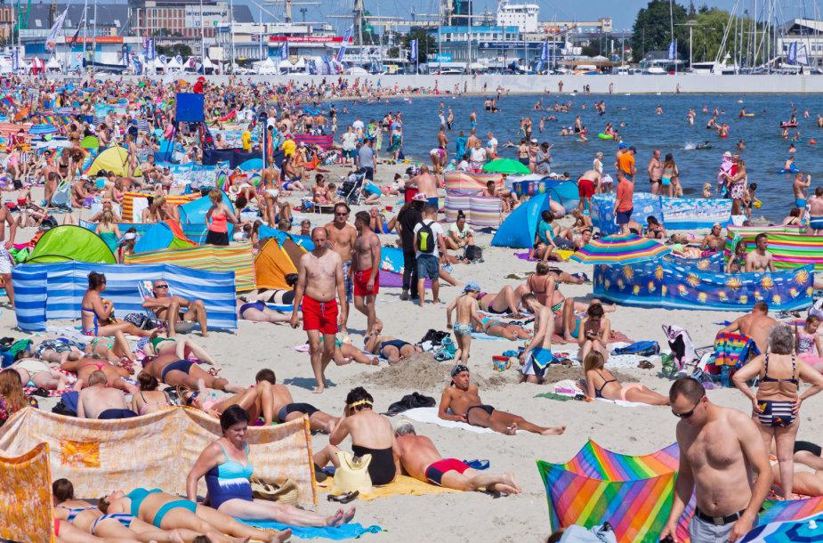 Gdynės paplūdimys