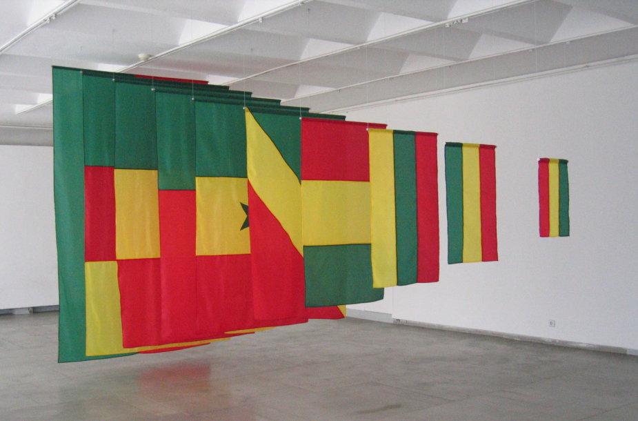 """Audrius Novickas """"Trispalvės dėlionė"""", 2005"""