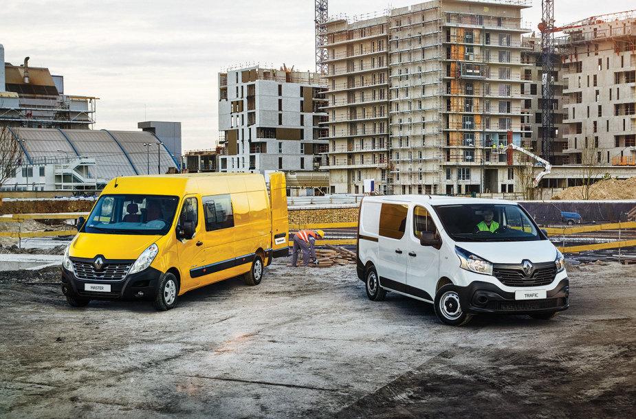 """""""Renault"""" komercinis transportas"""