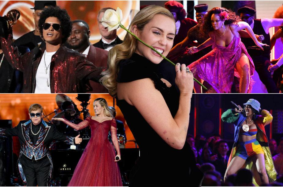 """""""Grammy"""" apdovanojimų akimirkos"""