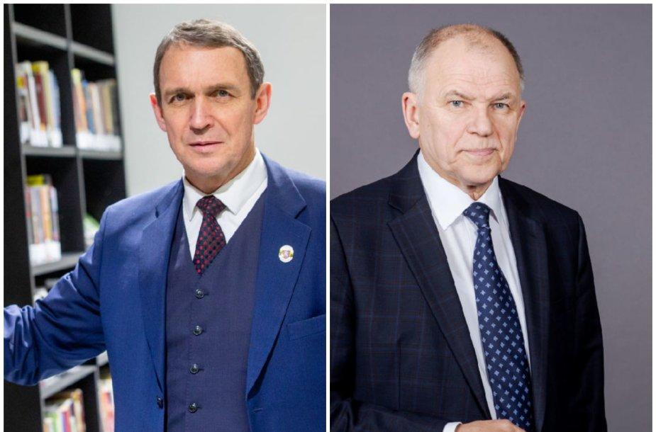 Arvydas Juozaitis ir Povilas Andriukaitis
