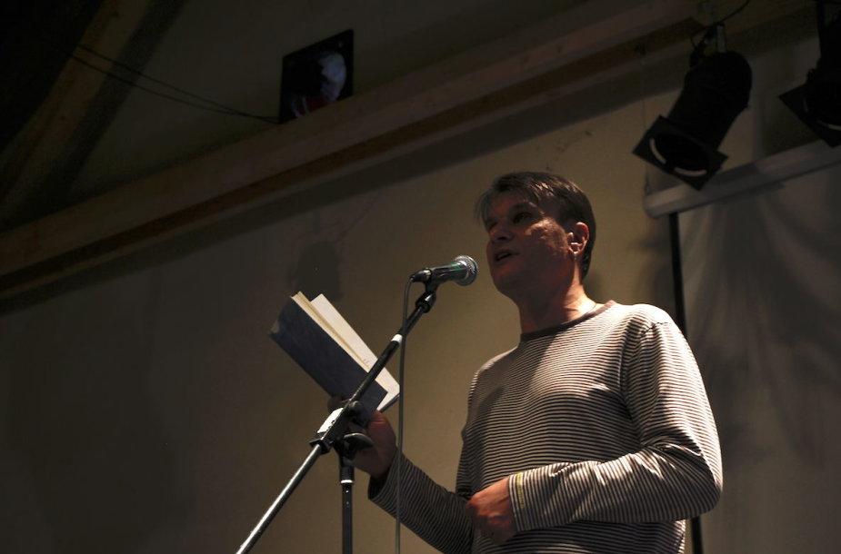 Poetas Rimvydas Stankevičius