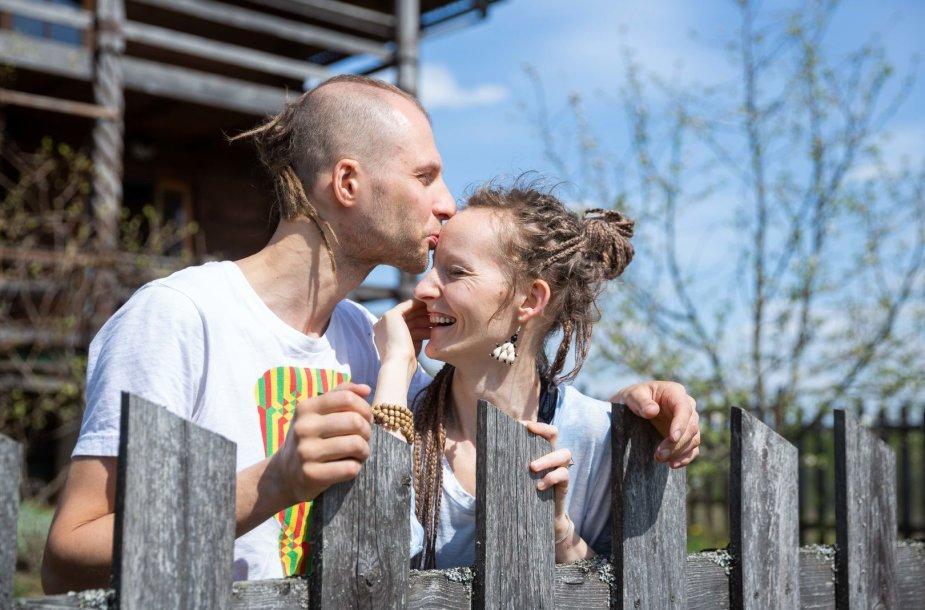 Gediminas Mačiulskis ir Ieva Žigaitė